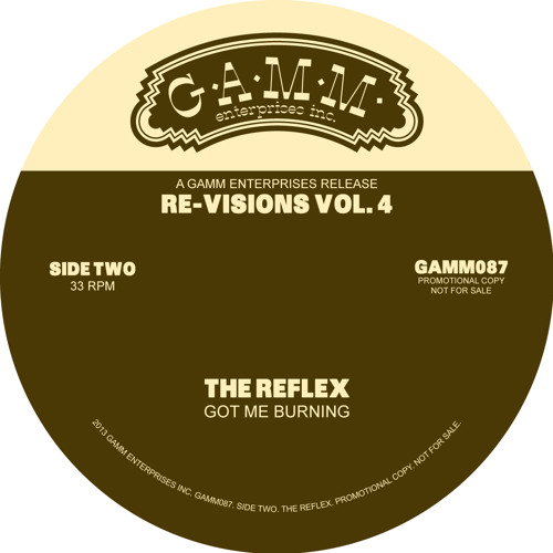 Got Me Burning • The Reflex Re√ision