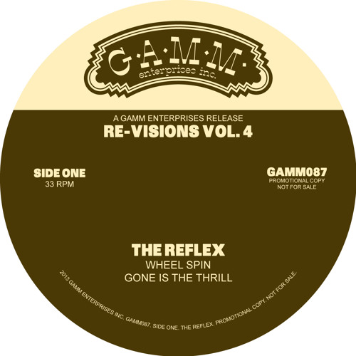 Gone Is The Thrill • The Reflex Re√ision