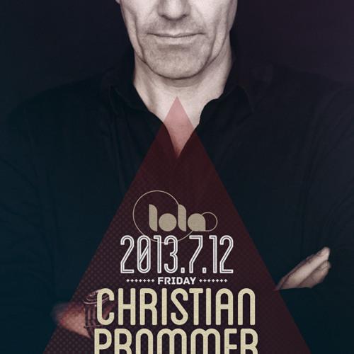 CHRISTIAN PROMMER @ Lola Club Shanghai