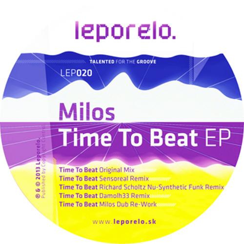 Milos- Time To Beat [LEP020]