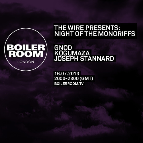 Gnod LIVE in the Boiler Room