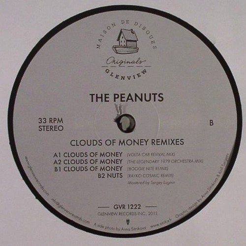 GVR1222 — The Peanuts — Clouds Of Money Remixes 12""
