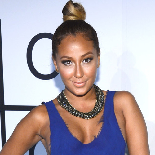 Direct from Hollywood: Adrienne Bailon Shoots Down Plastic Surgery Rumors