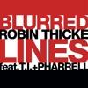 Robin Thicke feat T.I. & Pharrell - Blurred Lines(Dj - Roni Remix)