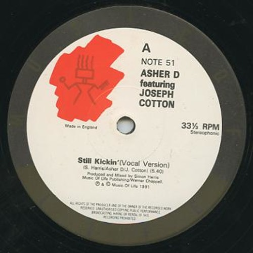 Asher D & Joseph Cotton- Still Kickin' (hardplate remix)