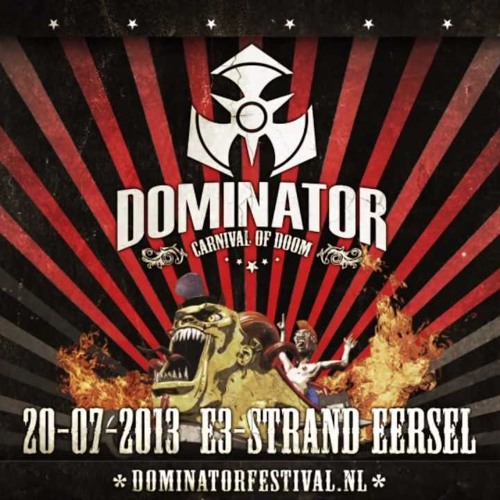 DJ The Condemned - Dominator 2013 Rawstyle Warm-up