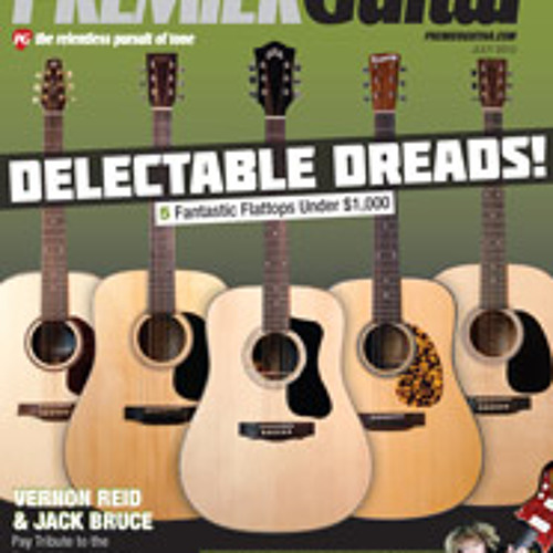 July 2012 Premier Guitar Issue