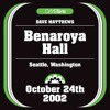 Stay (Wasting Time) - Dave Matthews - Benaroya Hall
