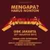 Interview Wendi Putranto (Rolling Stone) About Metallica Live In Jakarta