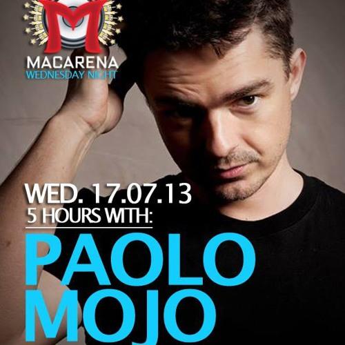 Paolo Mojo Live @ La Macarena Barcelona Miercoles 17.07.2013 P1