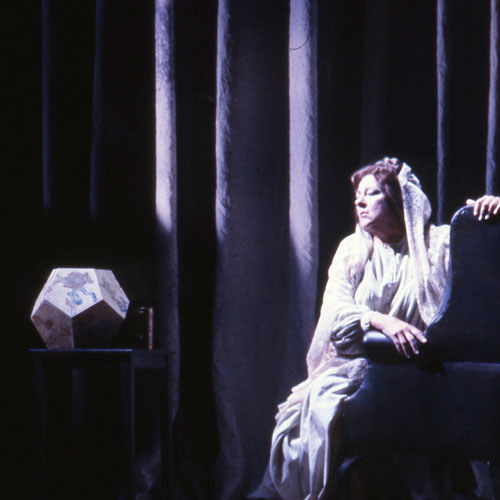 "Geraldine Decker as Erda in Seattle Opera's ""Das Rheingold,"" 1986"