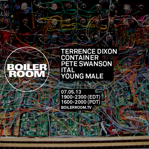 Terrence Dixon Live Set Boiler Room NYC