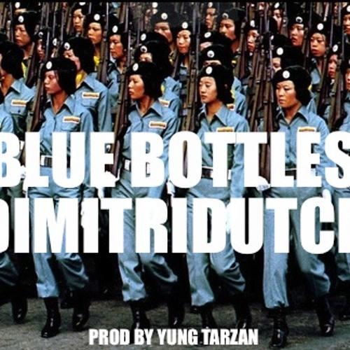 Dimitri Dutch-Blue Bottles