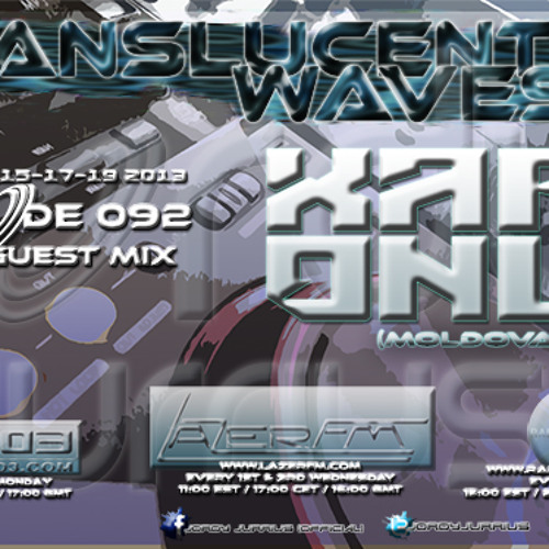 Jordy Jurrius - Translucent Waves Episode 092 (incl. guest mix Xabi Only)