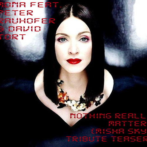 """MDNA feat.Peter Rauhofer & David Tort - Nothing Really Matters (MiSha Skye """"A 1000 nights"""" TEASER)"""