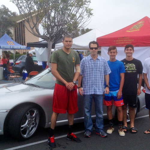 Dana Point 5th Marine Car Wash featured on KFI-AM 640 July 19