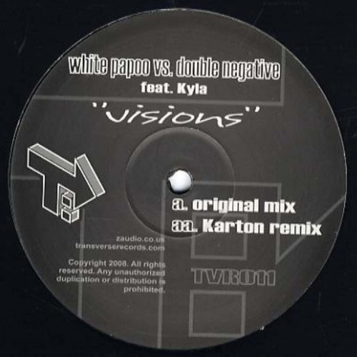 *OUT NOW* Double_Negative vs White Papoo - Vision feat.Mc Kyla [TVR011]