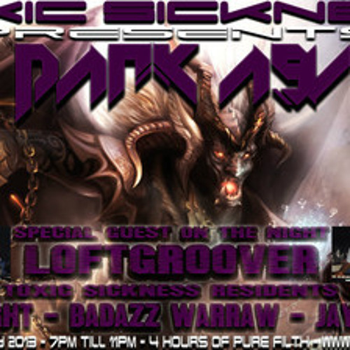 BADAZZ WARRAW (GER) ON TOXIC SICKNESS RADIO | DARK ASYLUM EPI #7 | INDUSTRIAL TERROR SET | 18.07.13