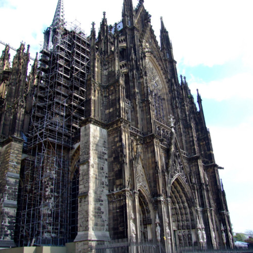 Köln, in front of the cathedral [july 19 2013]