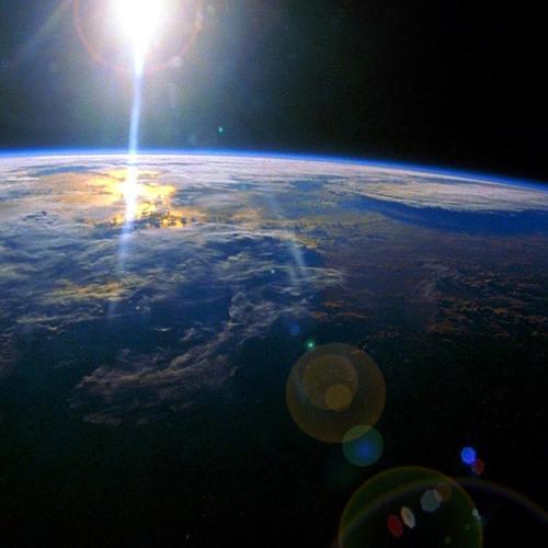 Leaving Earth ...