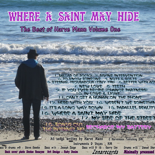 WHERE A SAINT MAY HIDE - Written & performed by Harve Mann