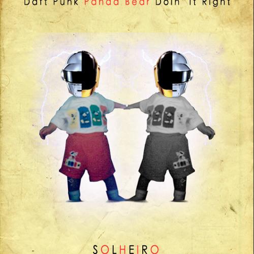 Daft Punk ft. Panda Bear - Doin' It Right (Solheiro Remix) (Free Download)