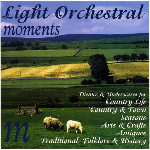 Soft Irish Rain: Light Orchestral Moments Library CD (clip)