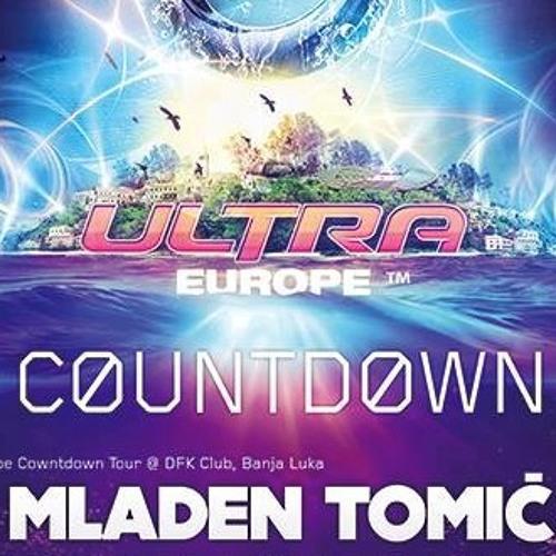 MLADEN TOMIC - Live @ DFK Club, Banja Luka - Ultra Europe Countdown, 5th July 2013.