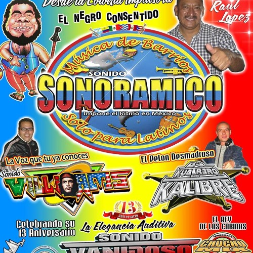 Sonoramico en Vivo Salon Caribe XIV Entrega de Reconocimientos A Clubs de Baile