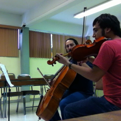 Duet #1 For Violin and Cello (Real Instruments)