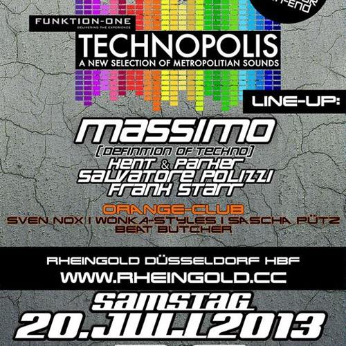 Salvatore Polizzi @ Rheingold 21-7-2013 Teil 4 !!! Free Download !!! Afterhour