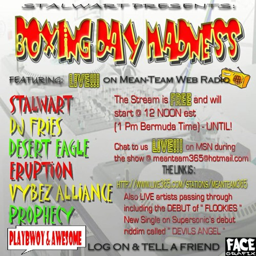 Mean Team Radio - Boxing Day Madness 2K6 - Playbwoy - Round 2 - 26-12-06