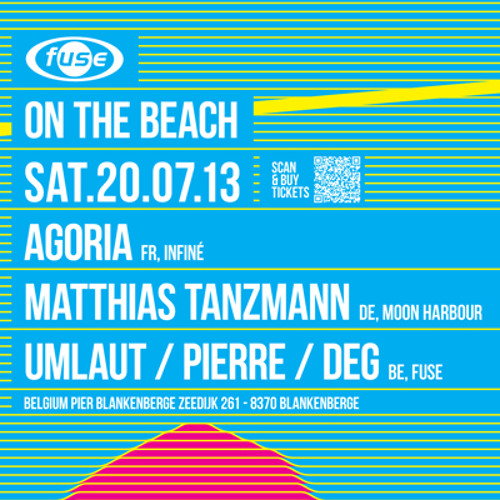 Pierre - Fuse on the Beach 20/07/2013
