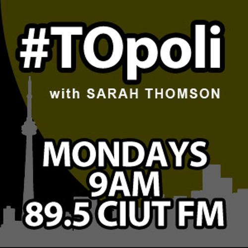 #TOpoli July 22, 2013 — pt1: Sarah Thomson in conversation with Adam Vaughan and Travis Myers