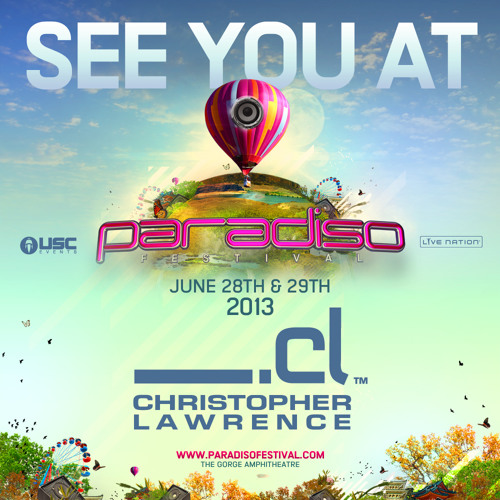 Live at Paradiso Festival @ Gorge Amphitheater