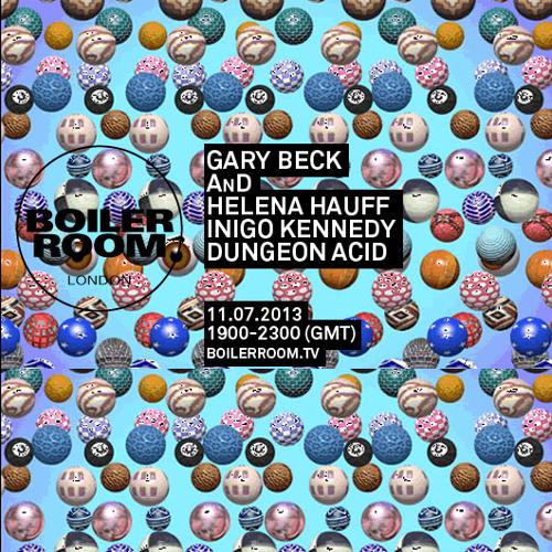 Gary Beck 50 min Boiler Room mix