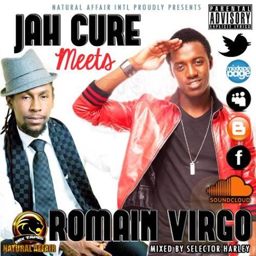 Jah Cure Meets Romain Virgo - July 2013