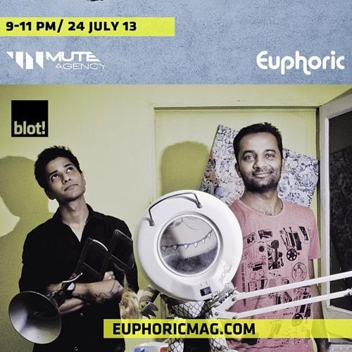 BLOT!cast #4 Unmute Sessions on Euphoric Mag