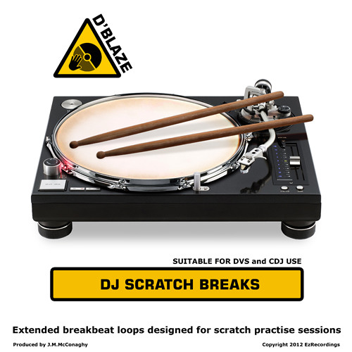 D'Blaze - DJ Scratch Breaks Vol 1 - Plastic Man
