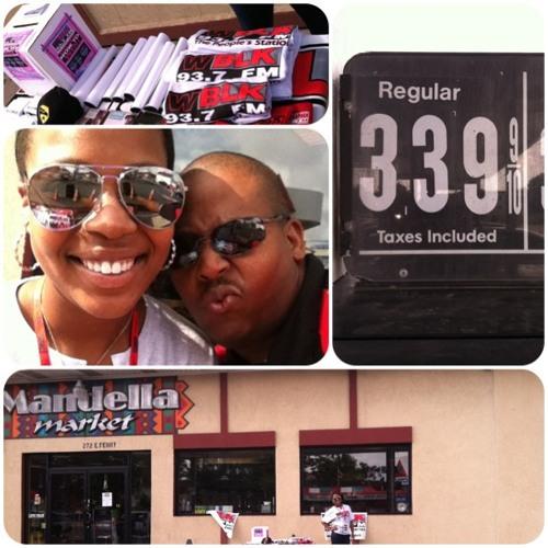 On Location at Mandella Market - Saturday 7/20/2013