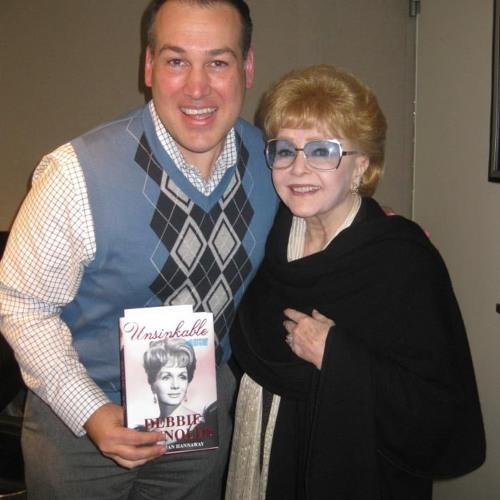 Debbie Reynolds on The Frank DeCaro Show Sirius XM OutQ talks w Jim Colucci re memoir Unsinkable