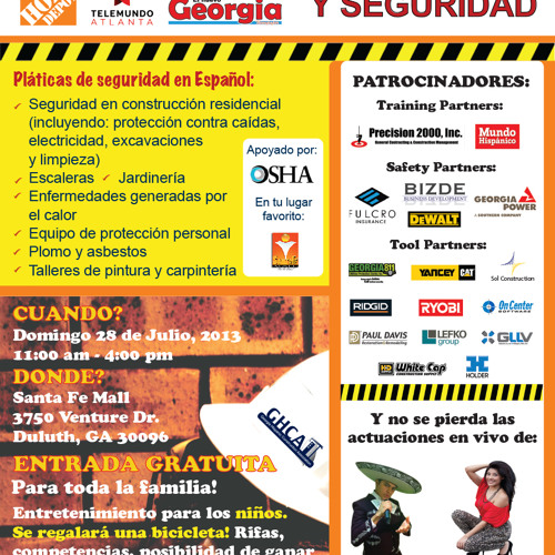 Construction Safety Fair (Spanish)
