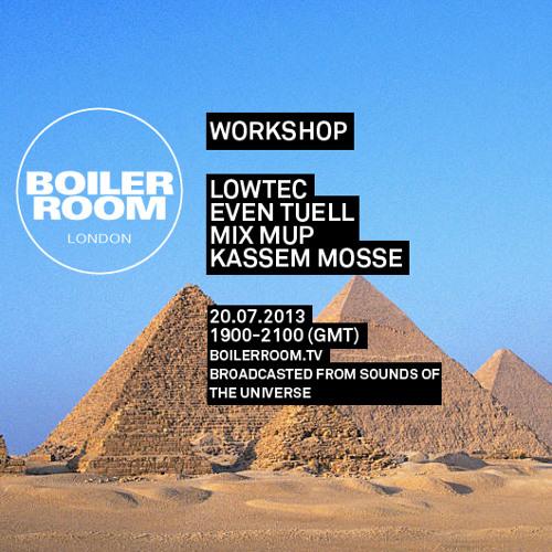 Workshop 1h30 Min Boiler Room Mix at Sounds Of The Universe