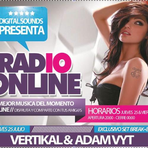 ADAM VYT @ DIGITAL SOUNDS RADIO (DSR) (Set Retro) 25/07/13