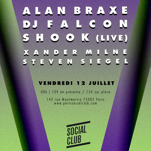 Shook LIVE from The Vulture Label Night 12-07-13 @ Social Club - Paris