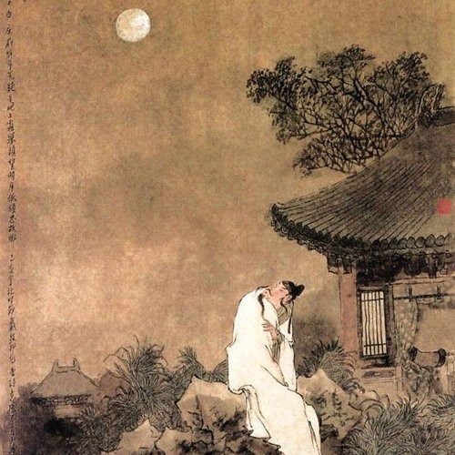 3 Moon Songs of Li-Po: #1. The Drinker, The Moon, and His Shadow (William George)