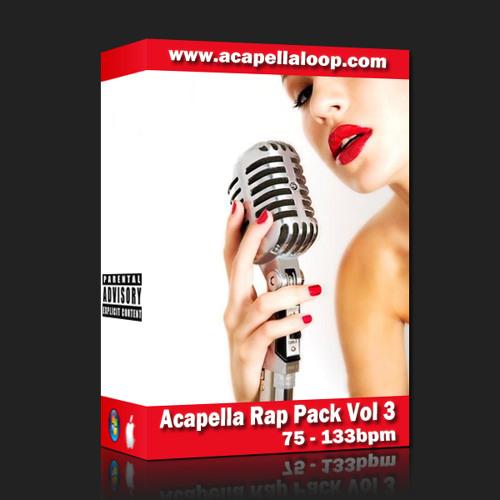 国外女声干声说唱/Rap Acapella Rap Pack Vol 3 (75-130bpm