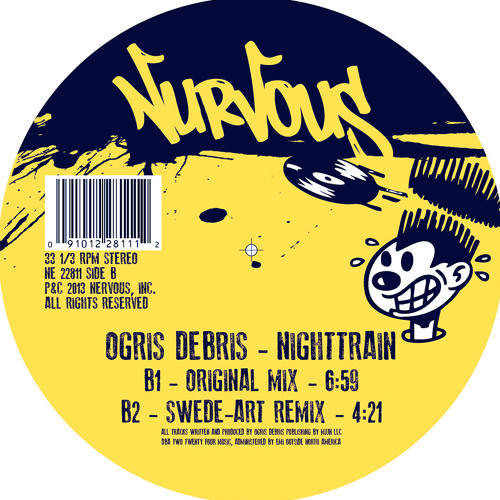 "Ogris Debris - Nighttrain (Swede:art Remix) 12"""