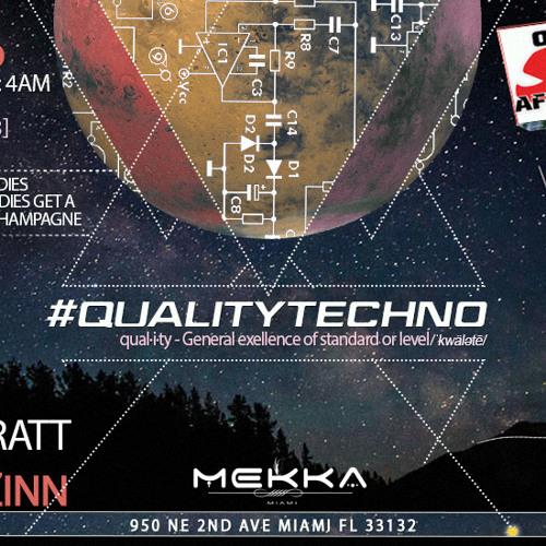 SpinnZinn LIVE @ QualityTechno AfterHours 7/19/13