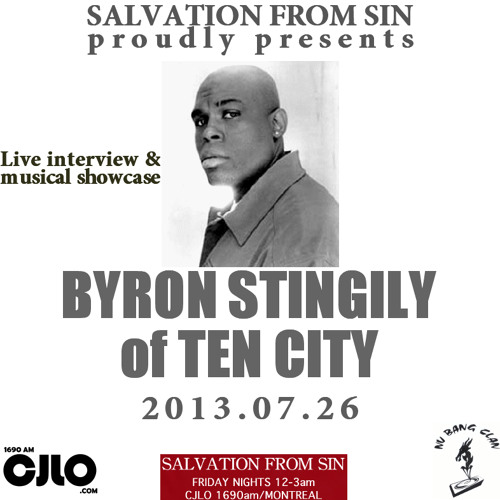 Salvation From Sin (2013-07-26) feat. BYRON STINGILY (of Ten City)